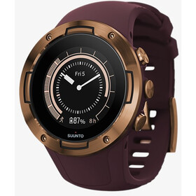 Suunto 5 GPS Sports Watch burgundy/copper